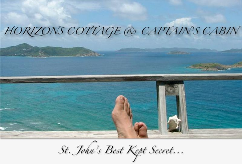 St. John rentals Horizons Cottage and Captain's Cabin