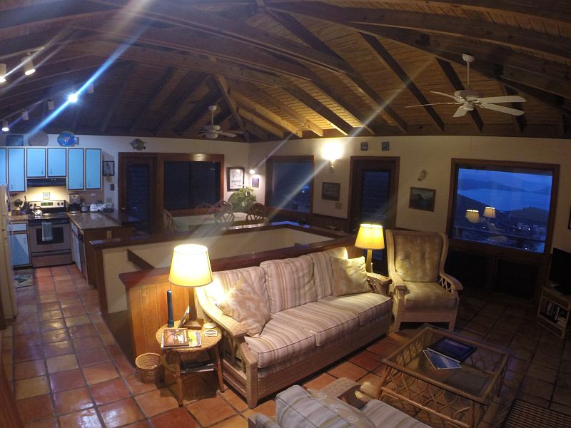 Living Room at Horizons Cottage